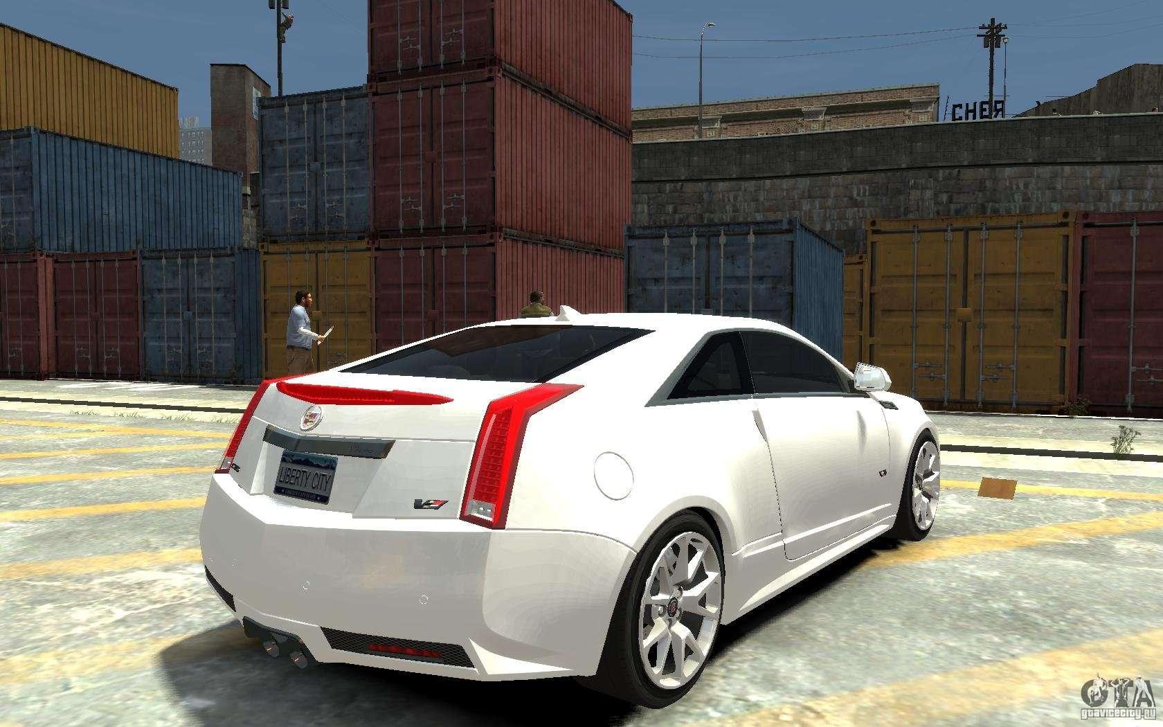 cadillac cts v coupe 2011 v 2 0 for gta 4. Black Bedroom Furniture Sets. Home Design Ideas