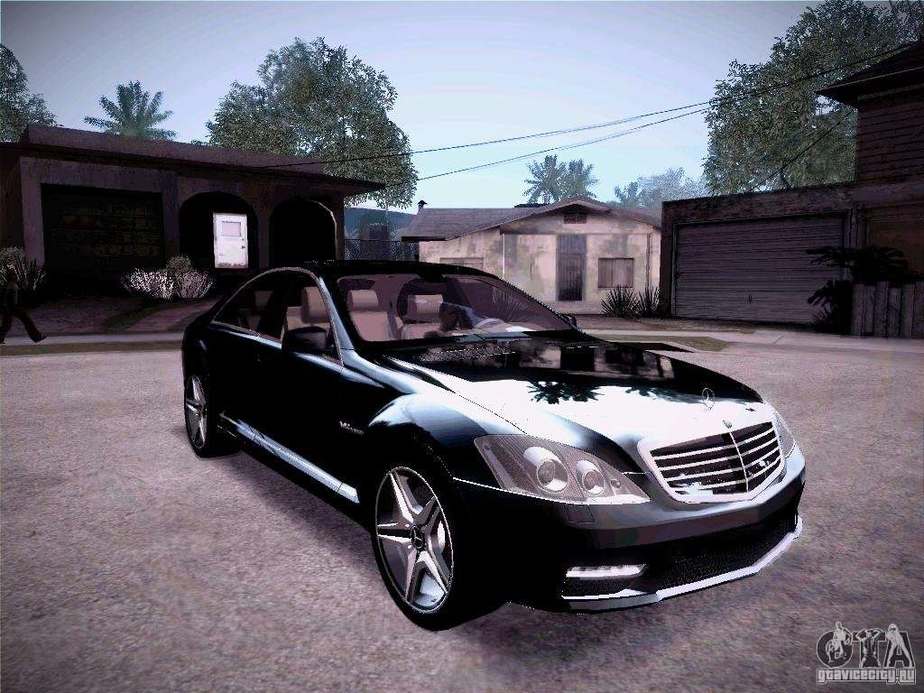 Mercedes benz s65 amg 2011 for gta san andreas for Mercedes benz amg s65