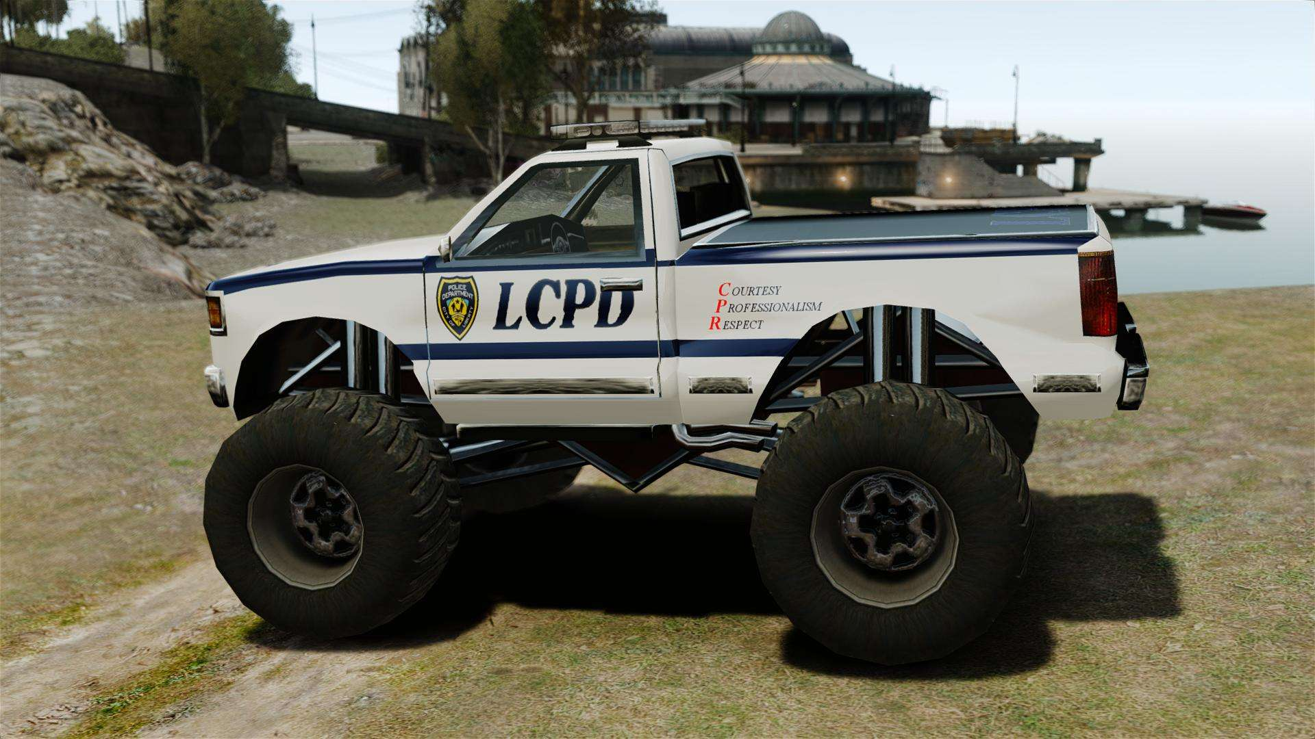 Cop Monster Truck ELS for GTA 4