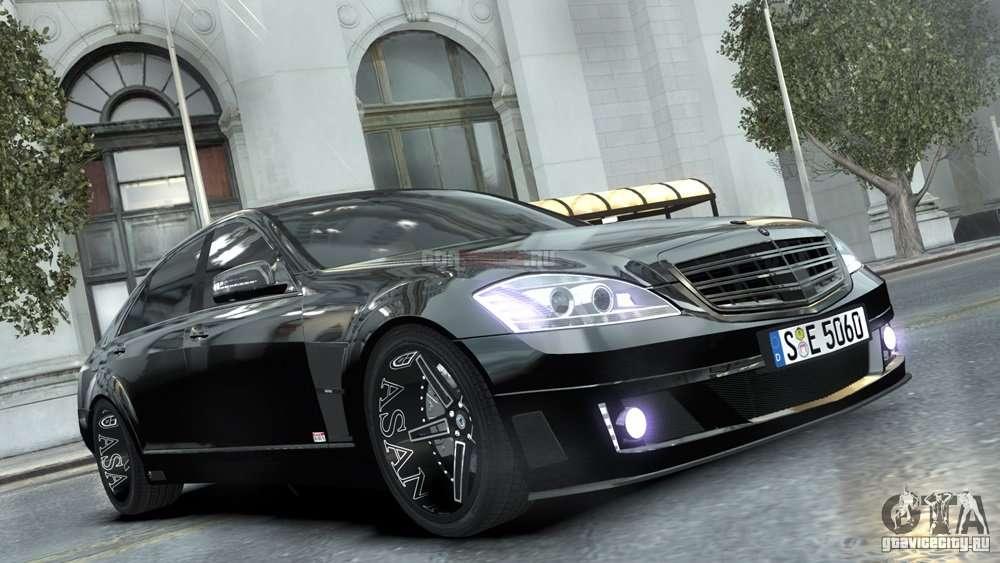 Mercedes Benz Brabus Sv12 R 63 Biturbo W221 For Gta 4