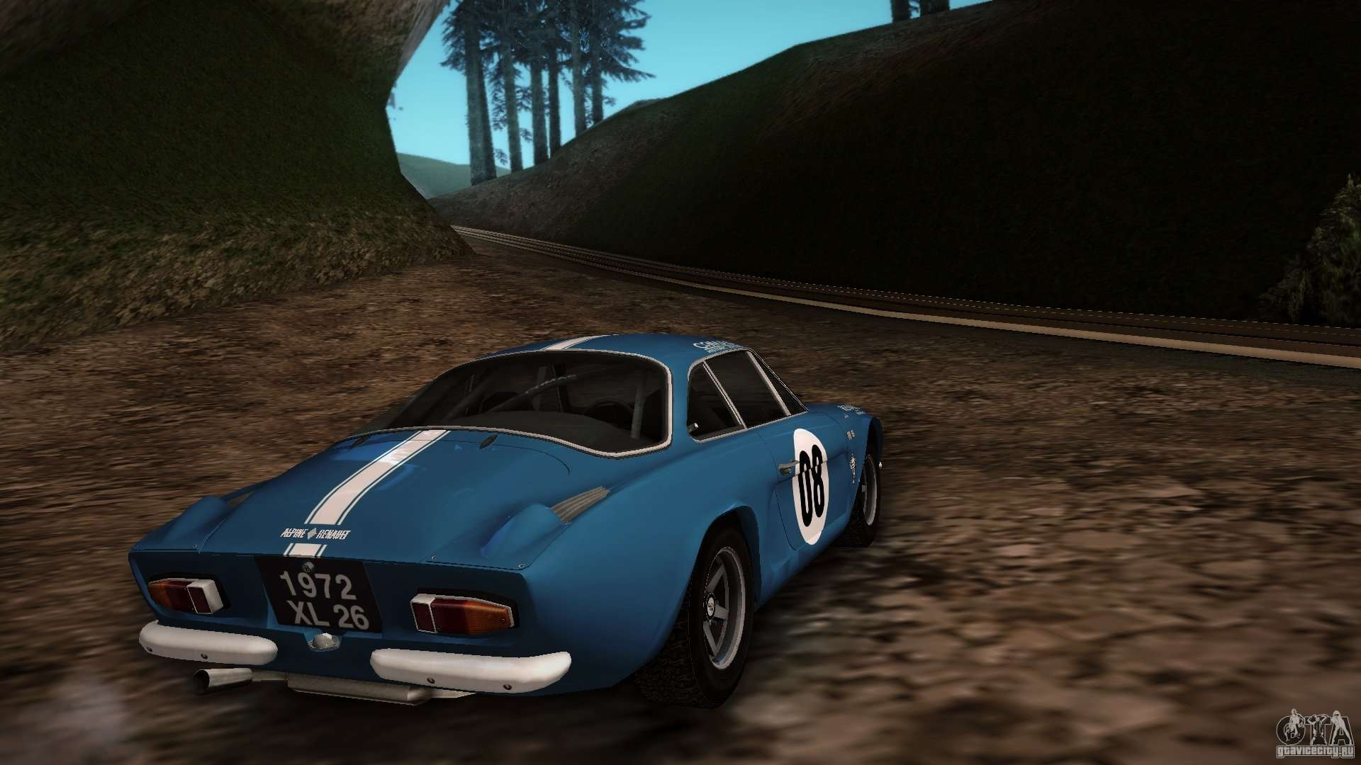 renault alpine a110 1600s rally for gta san andreas. Black Bedroom Furniture Sets. Home Design Ideas