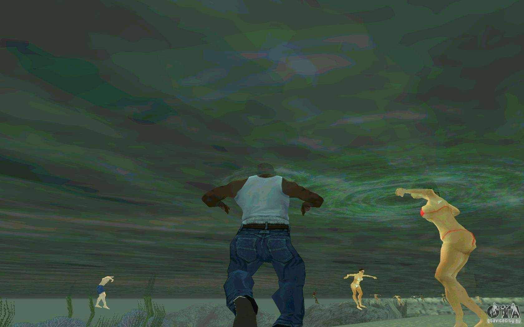 3 Ways to Swim Underwater in GTA San Andreas - wikiHow