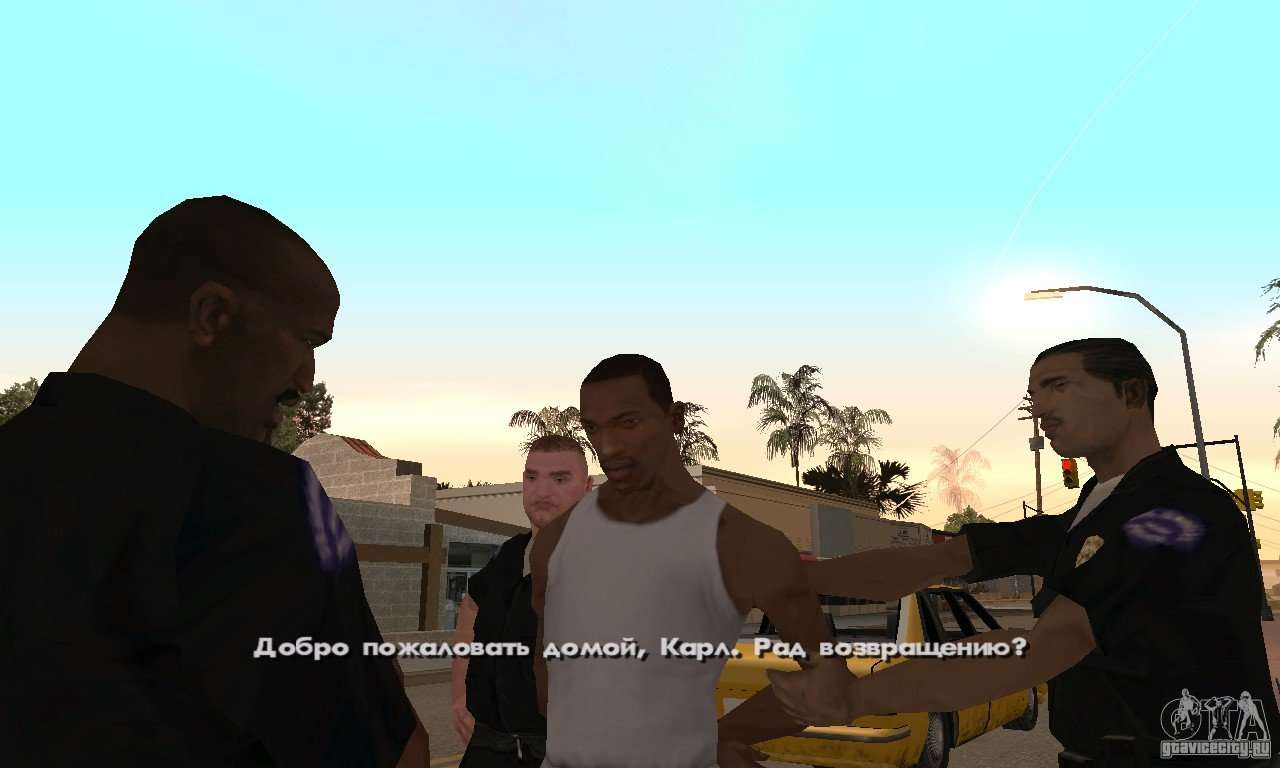 Русификатор для Steam версии GTA San Andreas для GTA San Andreas пят