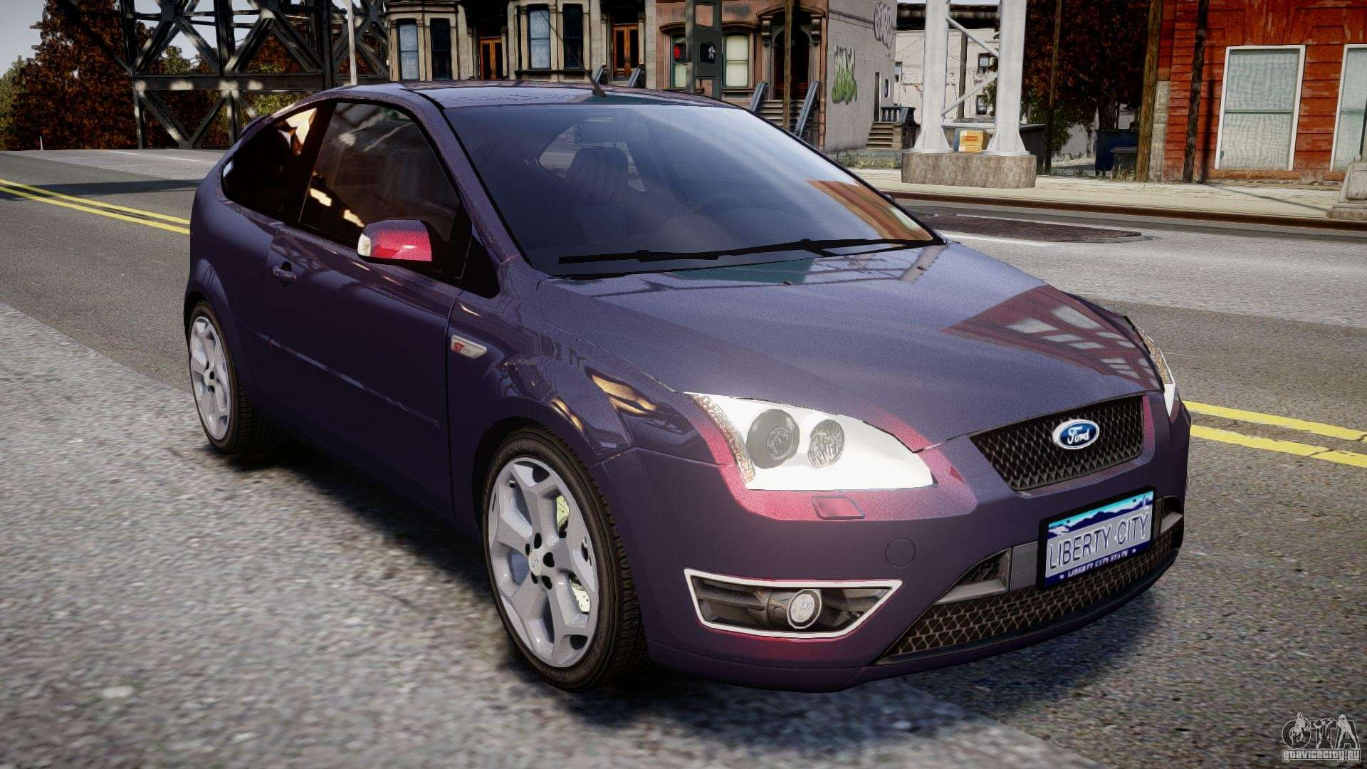 Ford Focus St Mkii 2005 For Gta 4