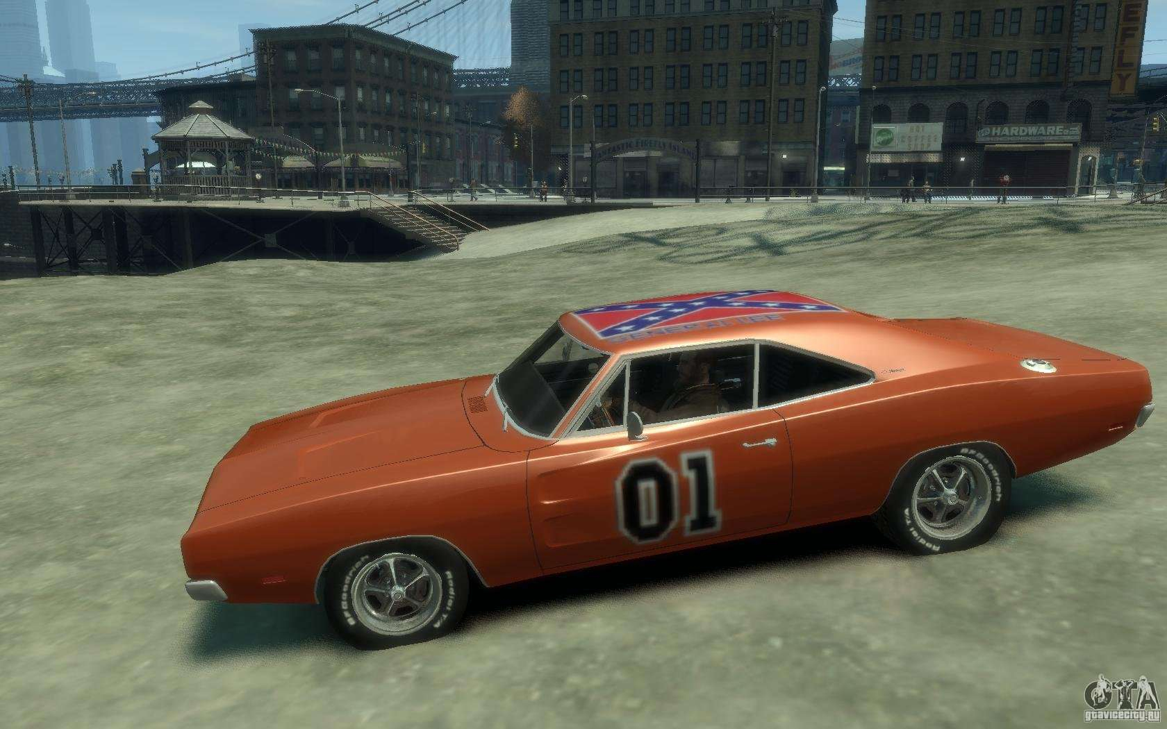 Dodge Charger General Lee V1 1 For Gta 4