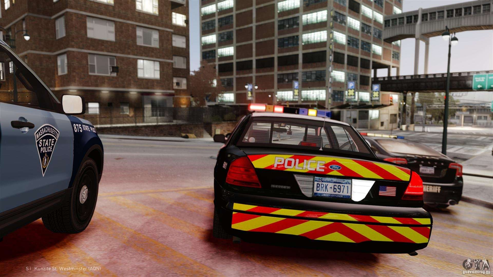 Emergency Lighting System v7 for GTA 4