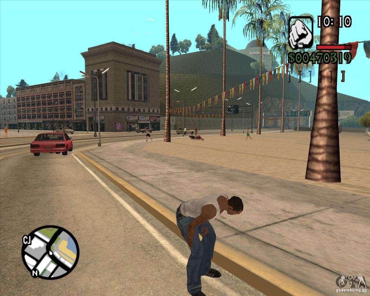 Endorphin Mod v 3 for GTA San Andreas