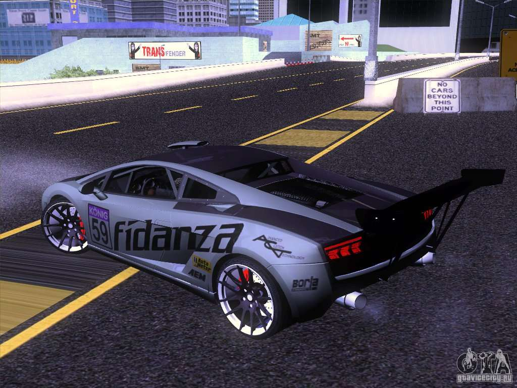 Street Racing Cars In Gta San Andreas