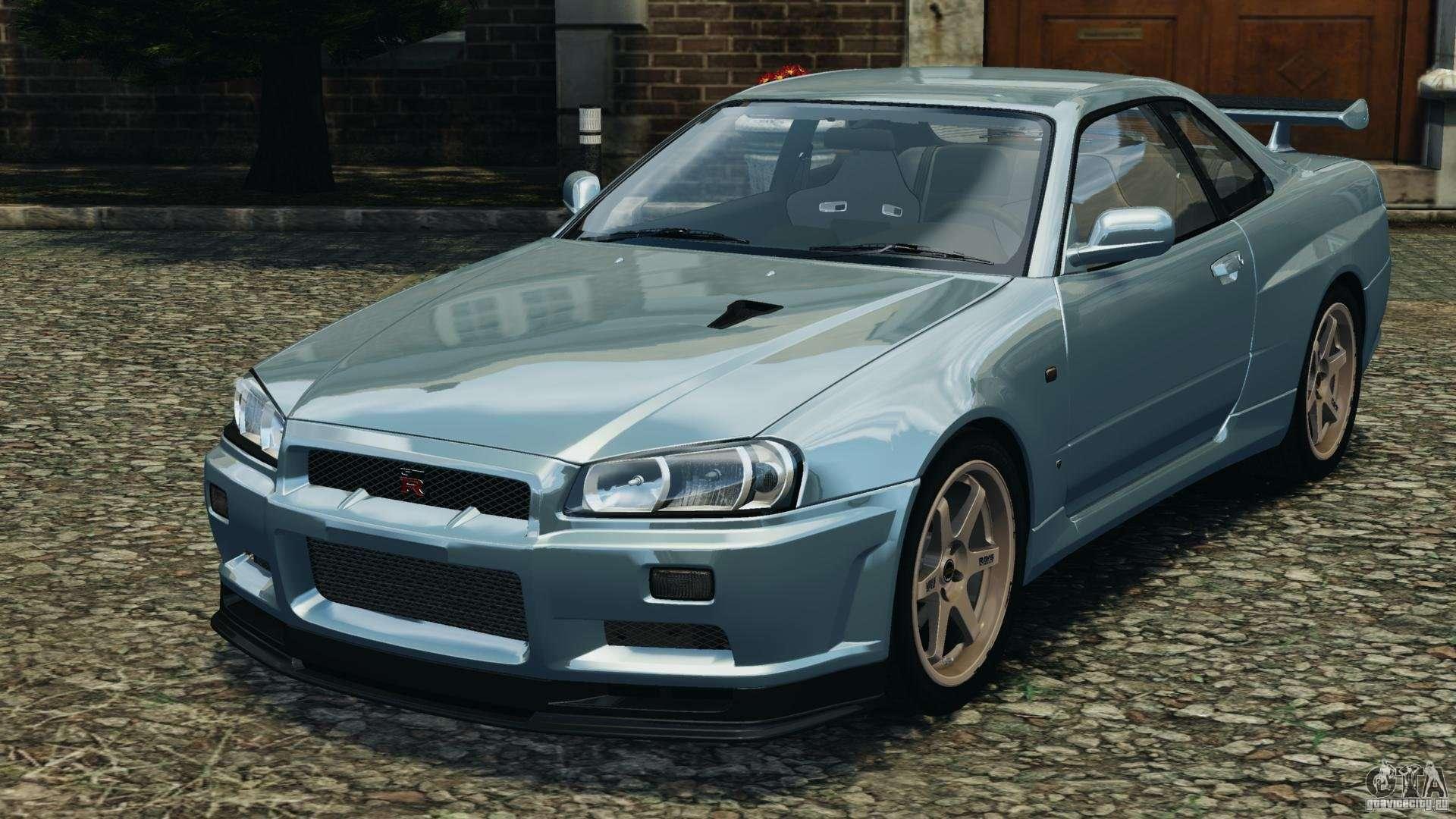 Nissan skyline gt r r34 2002 v10 for gta 4 vanachro Choice Image