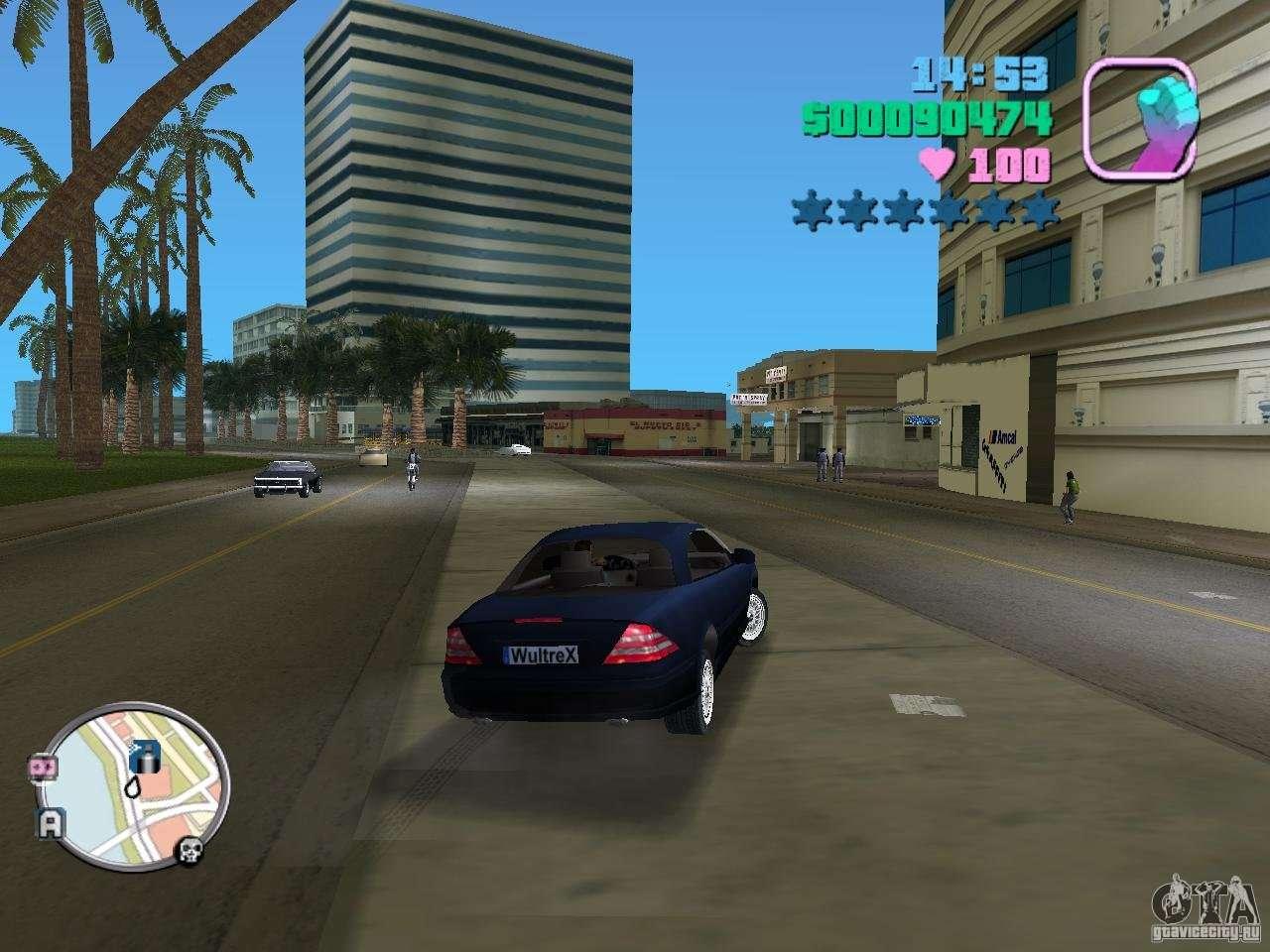 Mercedes Benz E350 For Gta Vice City