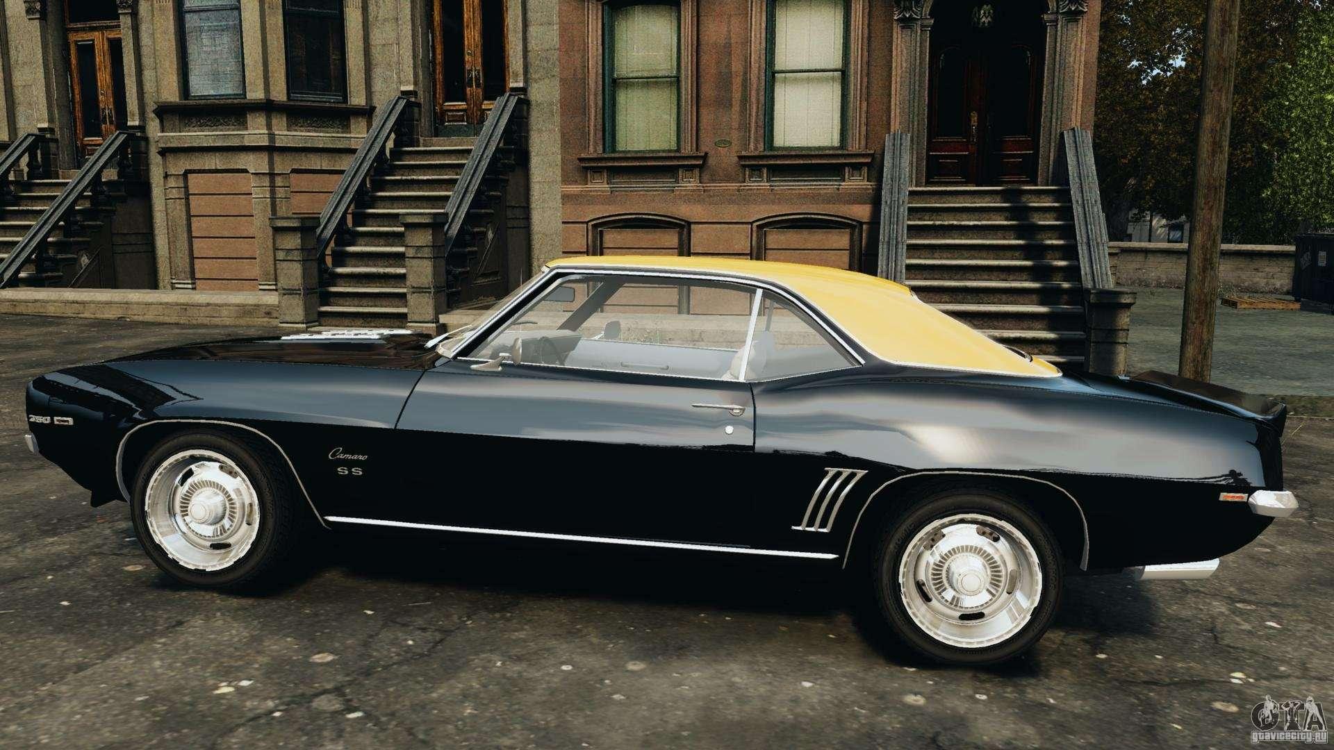 chevrolet camaro ss 350 1969 for gta 4. Black Bedroom Furniture Sets. Home Design Ideas