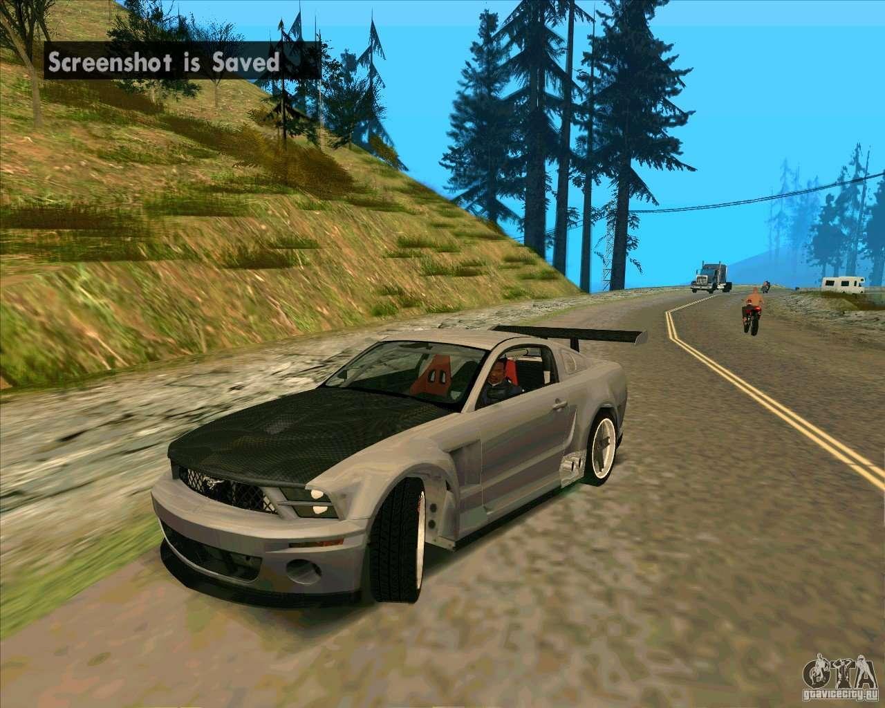 Ford Mustang Gtr For Gta San Andreas
