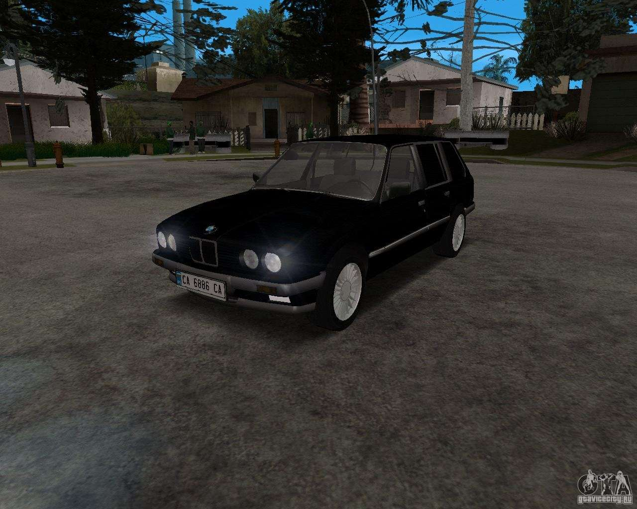 bmw 320i touring 1989 for gta san andreas. Black Bedroom Furniture Sets. Home Design Ideas