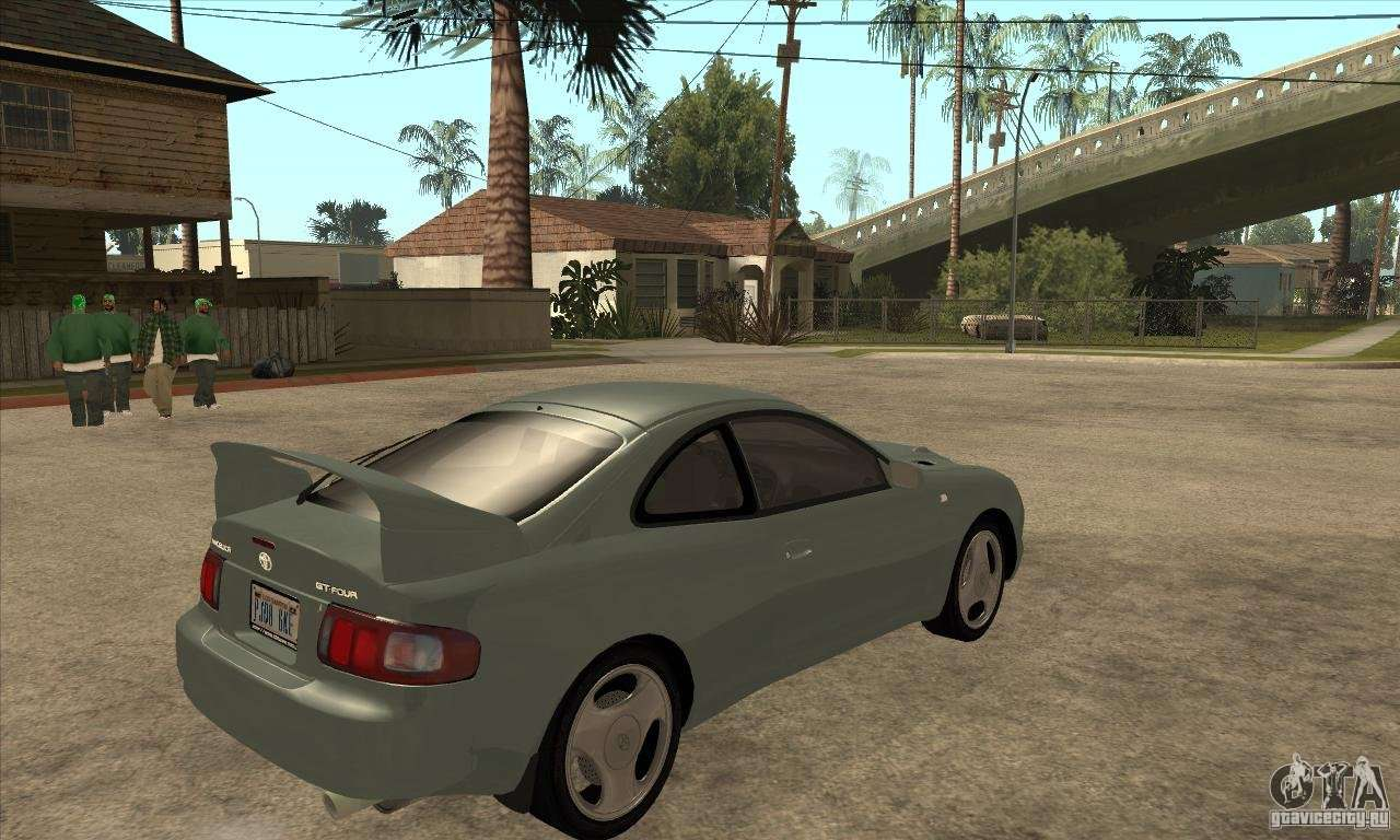 Toyota Celica Gt Four For Gta San Andreas 1973 Liftback Right View