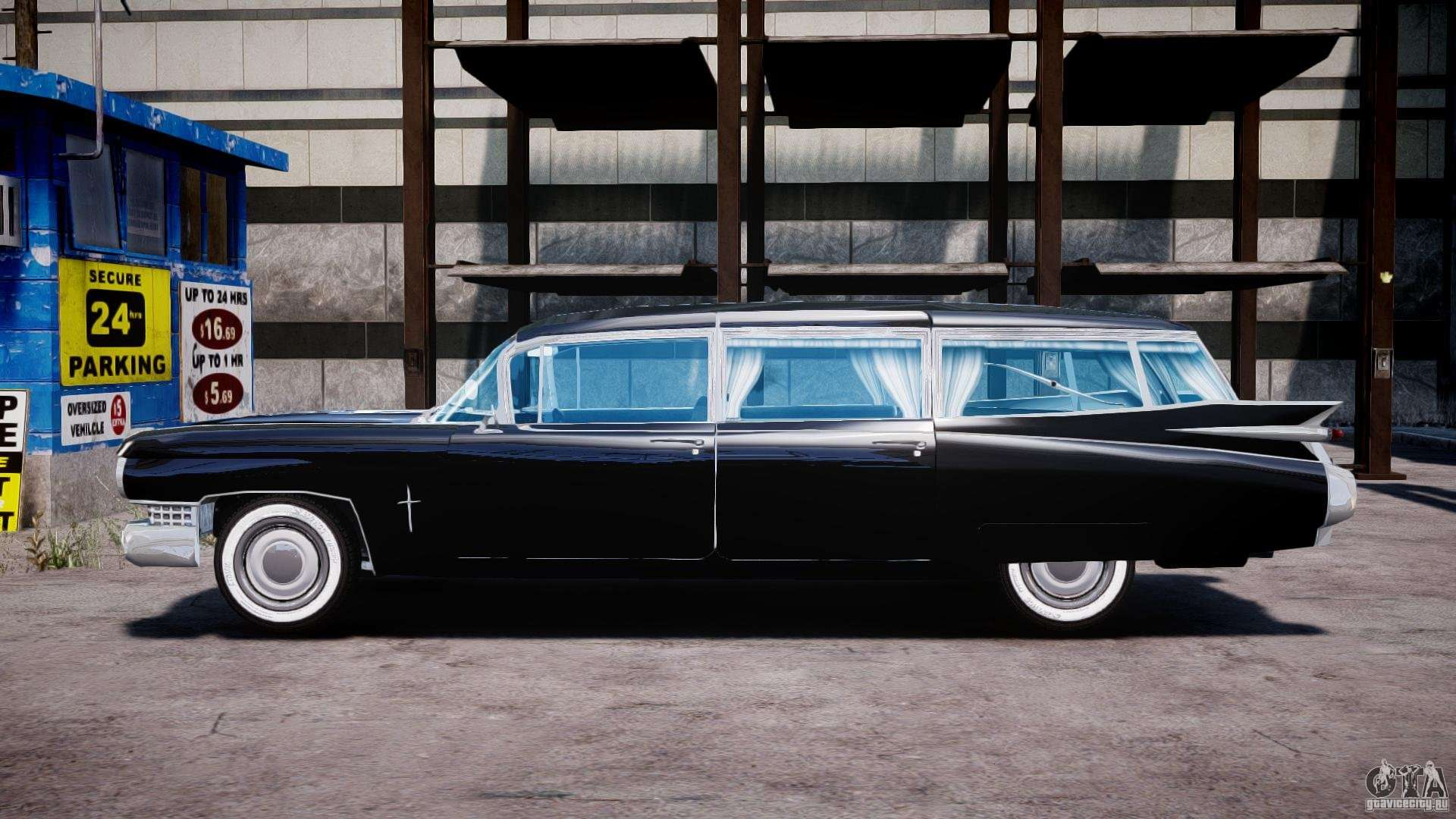 Cadillac Miller Meteor Hearse 1959 For Gta 4