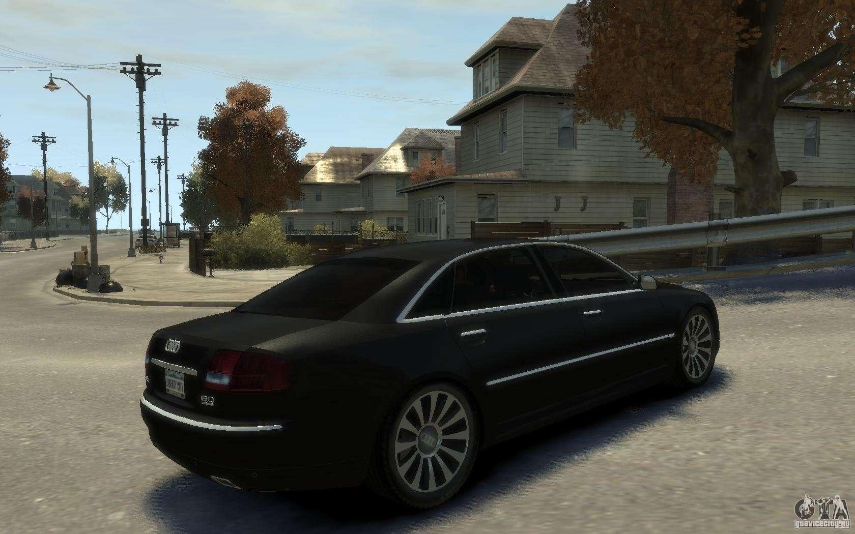 Audi A8 W12 >> Audi A8 L 6.0 Quattro (Transporter 3) for GTA 4