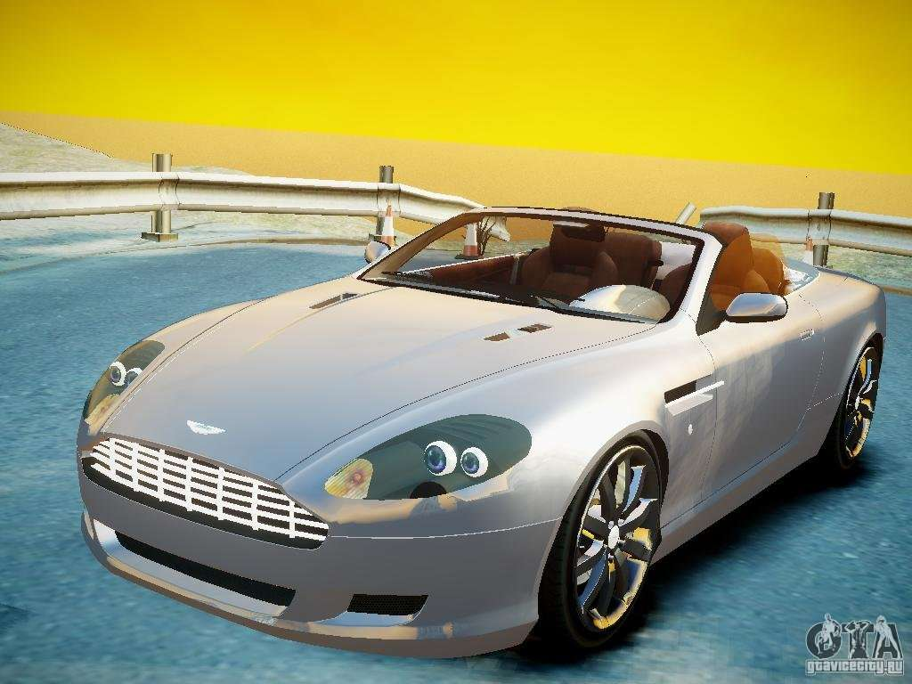 aston martin db9 volante v2 0 for gta 4. Black Bedroom Furniture Sets. Home Design Ideas