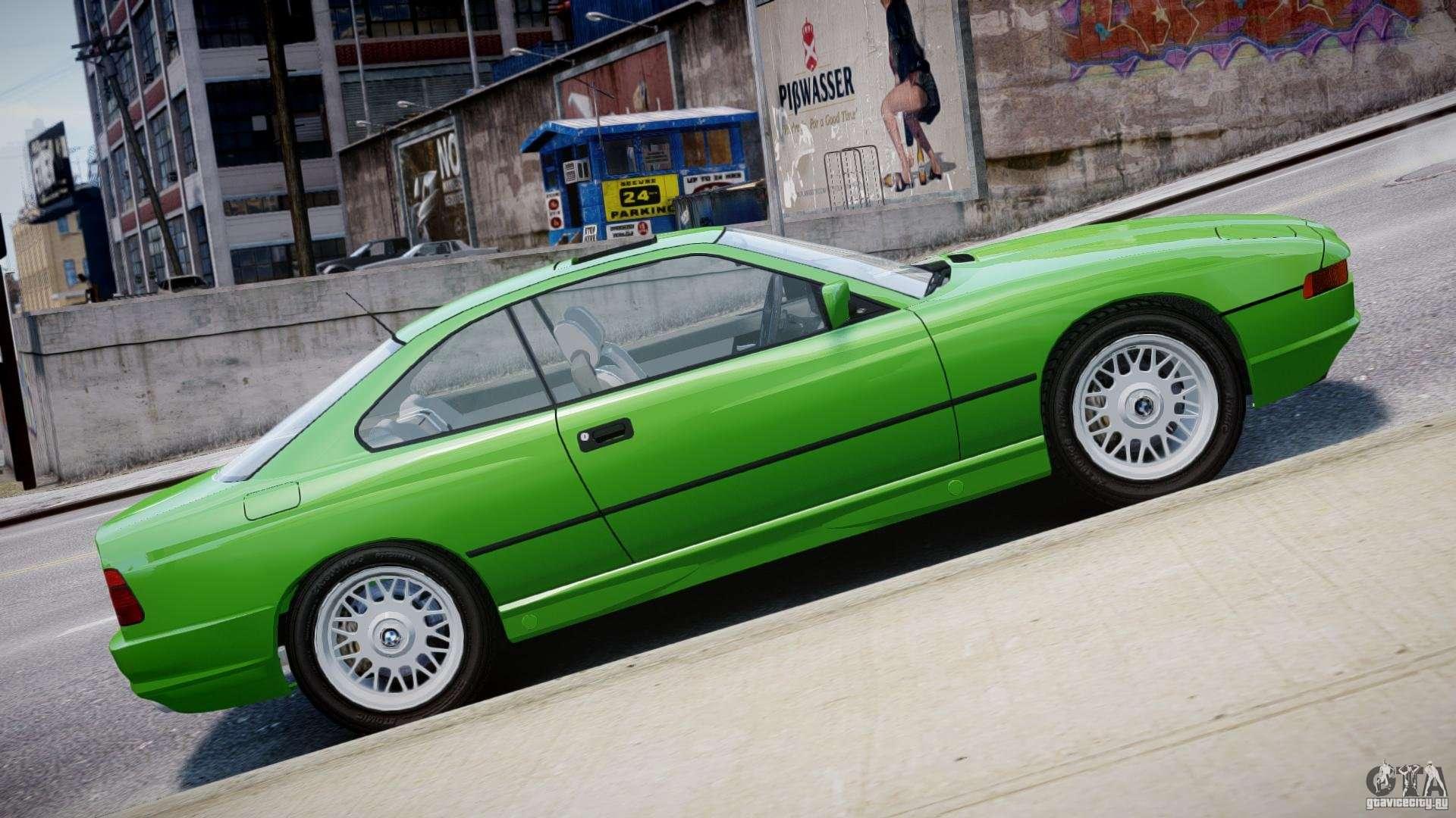 BMW 850i E31 1989 1994 For GTA 4 Interior