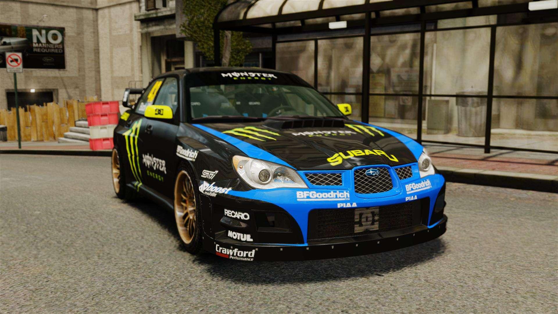 Subaru 7 Passenger >> Subaru Impreza WRX STI GD Gymkhana Ken Block for GTA 4