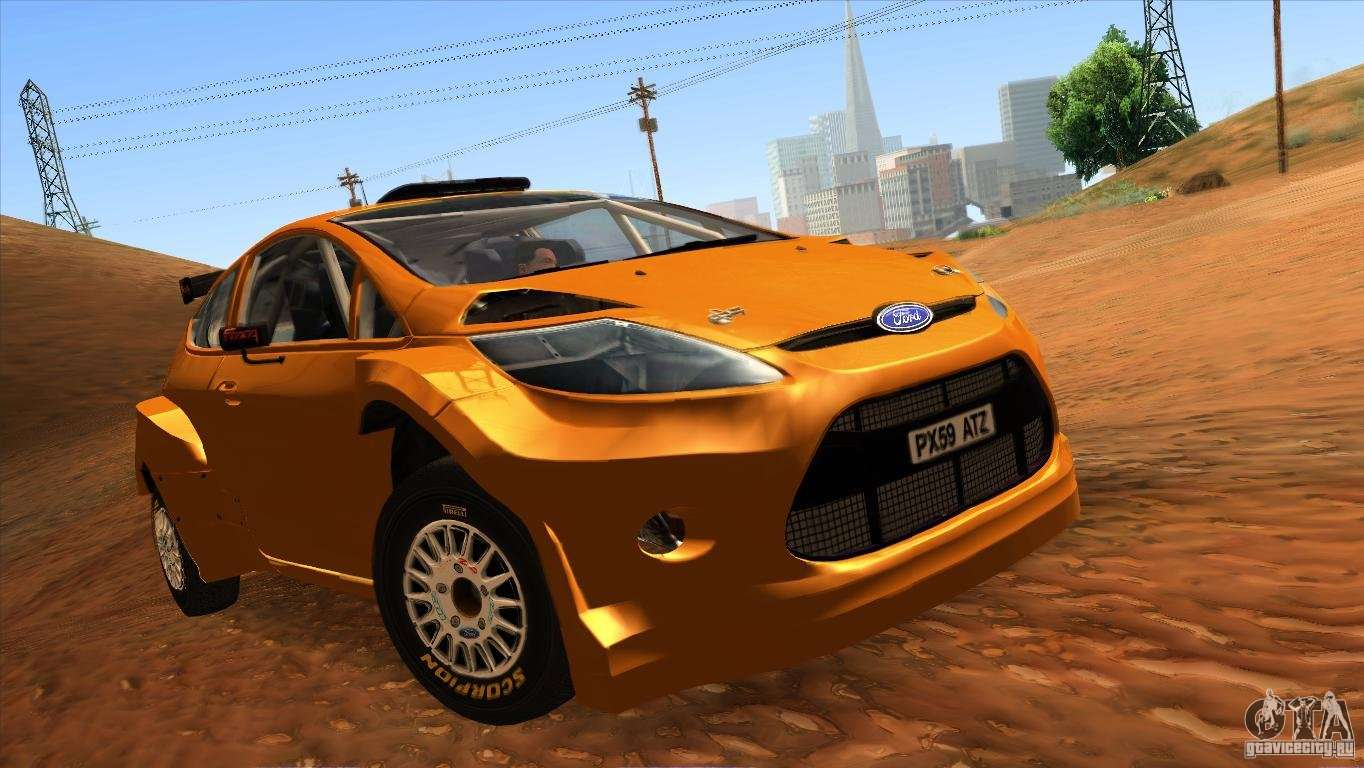 Ford Fiesta Hatchback >> Ford Fiesta Rally for GTA San Andreas