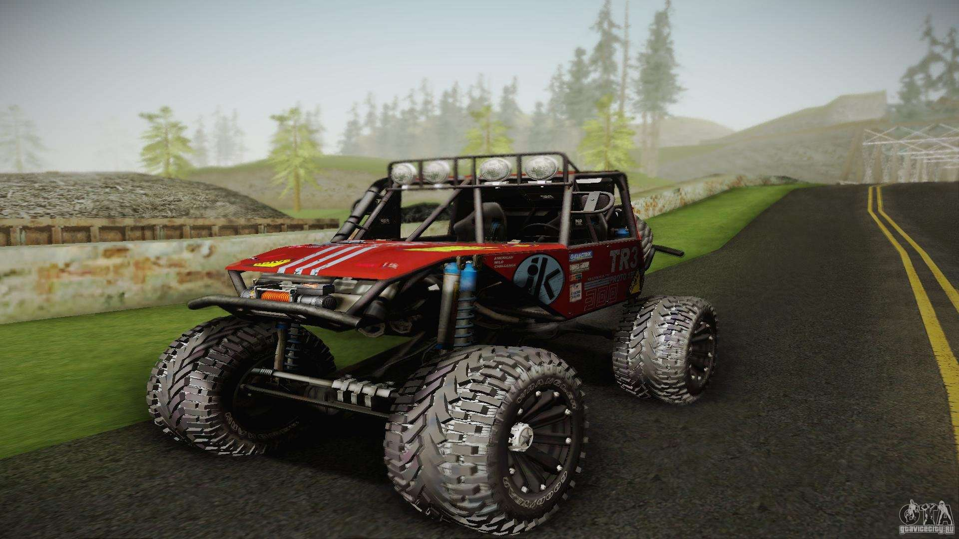 buggy off road 4x4 for gta san andreas. Black Bedroom Furniture Sets. Home Design Ideas
