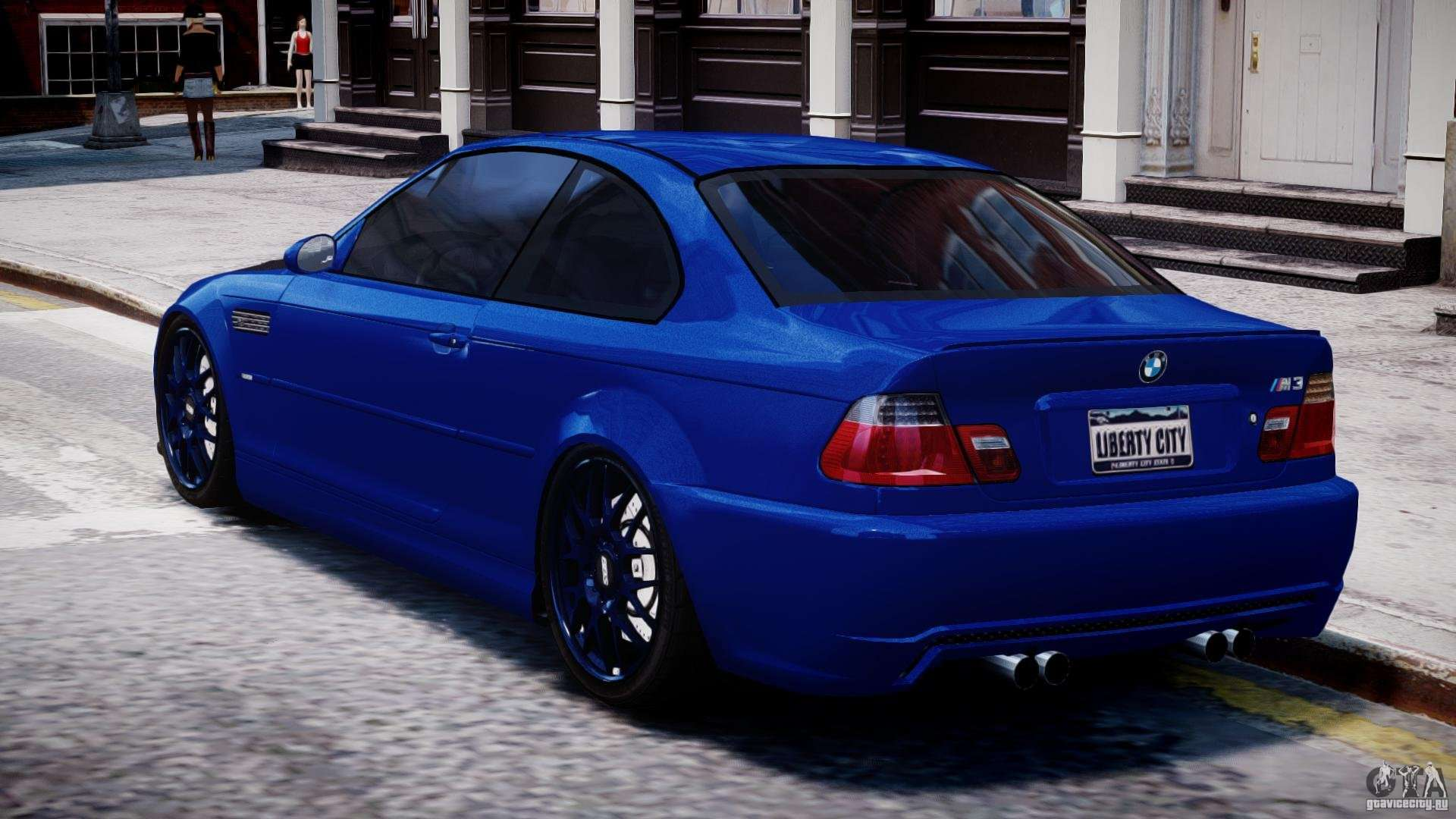 bmw m3 e46 tuning 2001 for gta 4. Black Bedroom Furniture Sets. Home Design Ideas