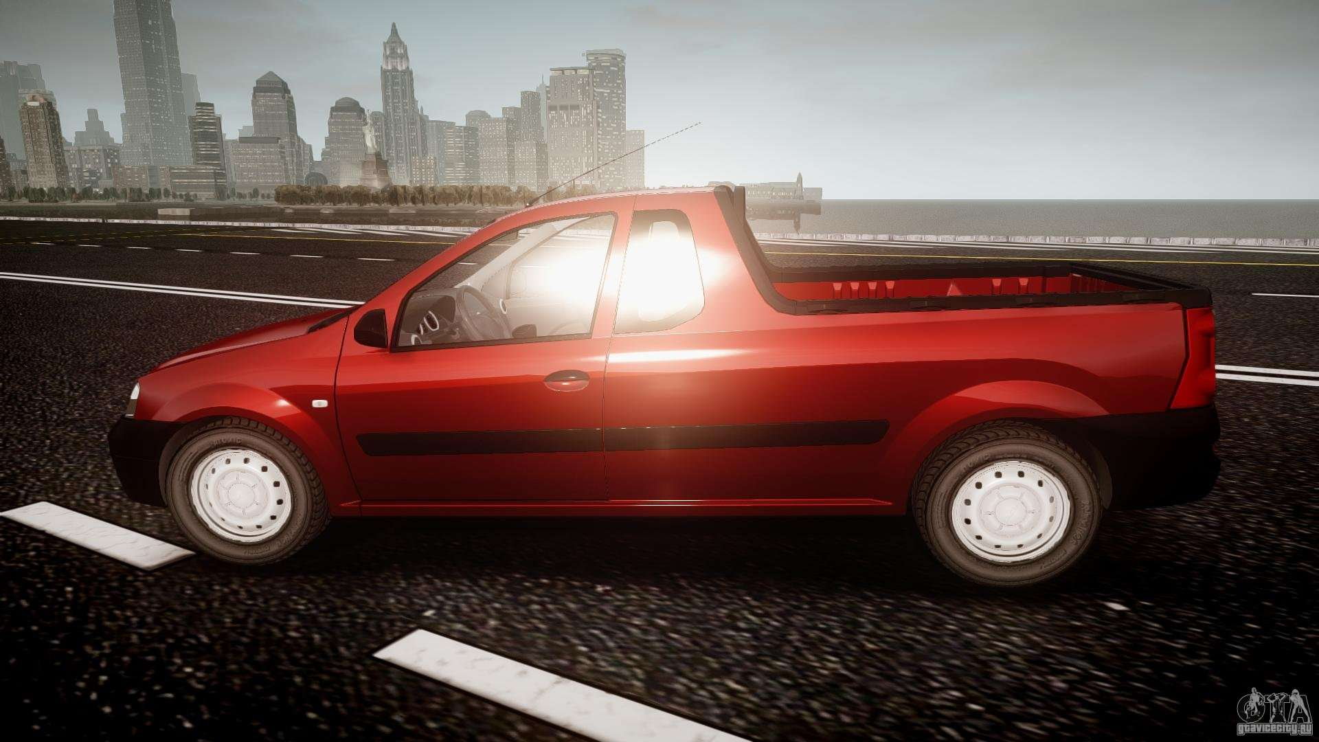 dacia logan pick up elia tuned for gta 4. Black Bedroom Furniture Sets. Home Design Ideas