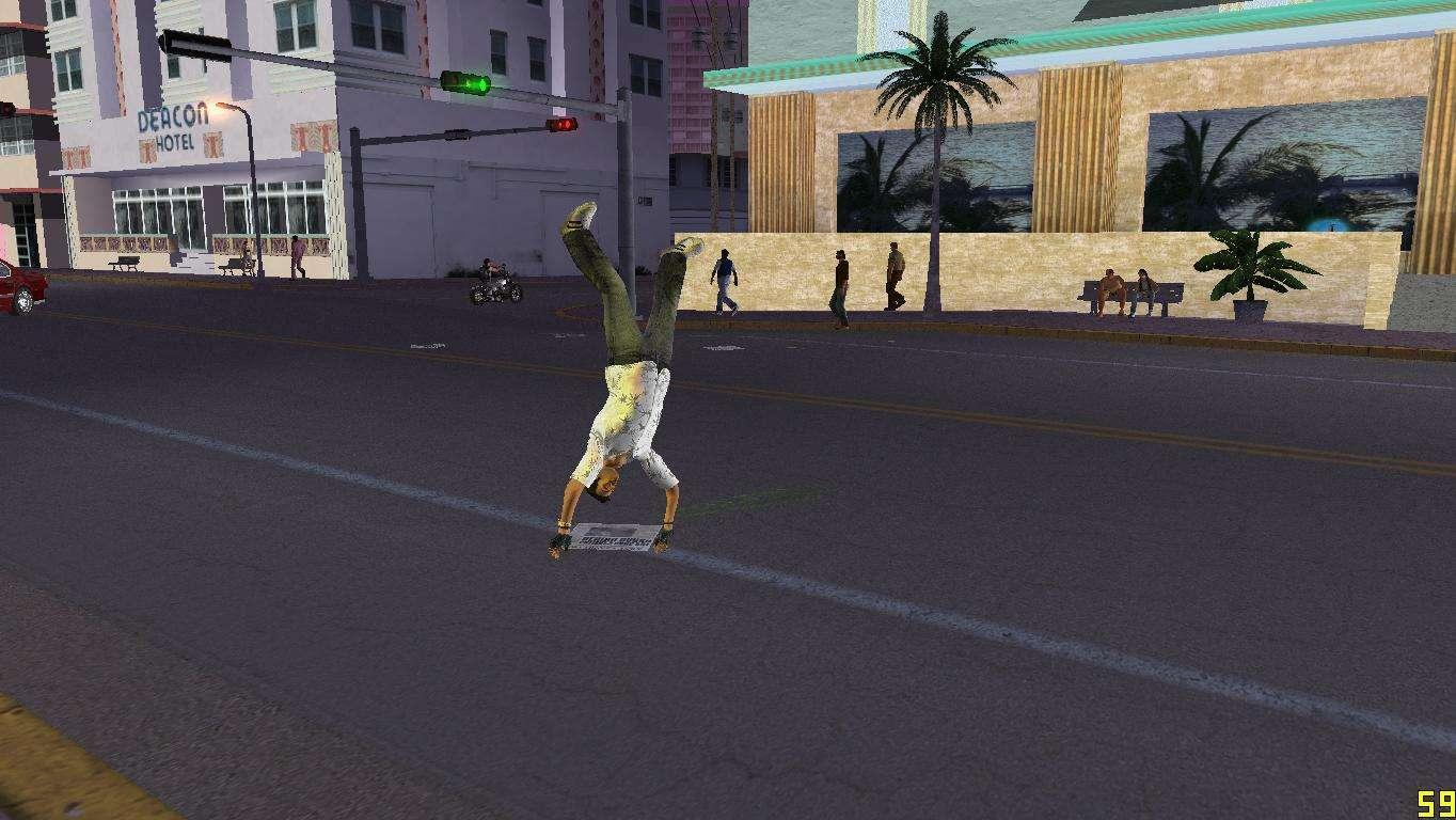 Cleo Parkour v4 for GTA Vice City