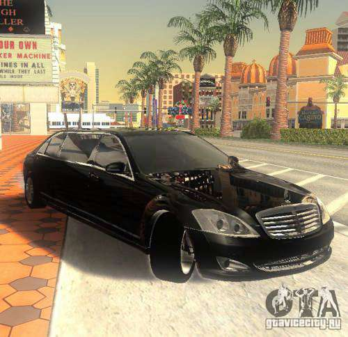 Mercedes-Benz Pullman (w221) SE for GTA San Andreas