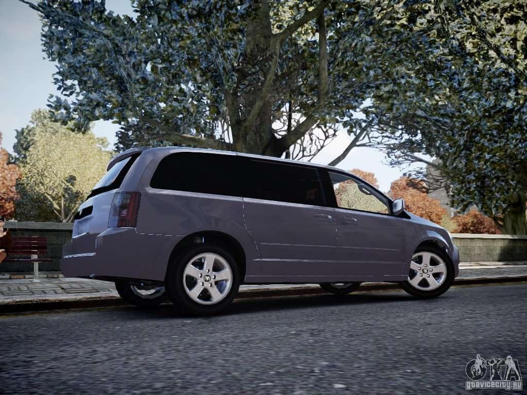 dodge grand caravan sxt 2008 for gta 4. Black Bedroom Furniture Sets. Home Design Ideas