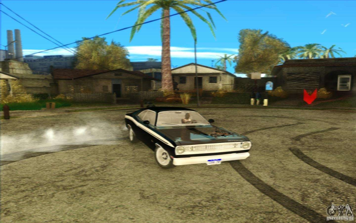 plymouth duster 340 1971 for gta san andreas. Black Bedroom Furniture Sets. Home Design Ideas