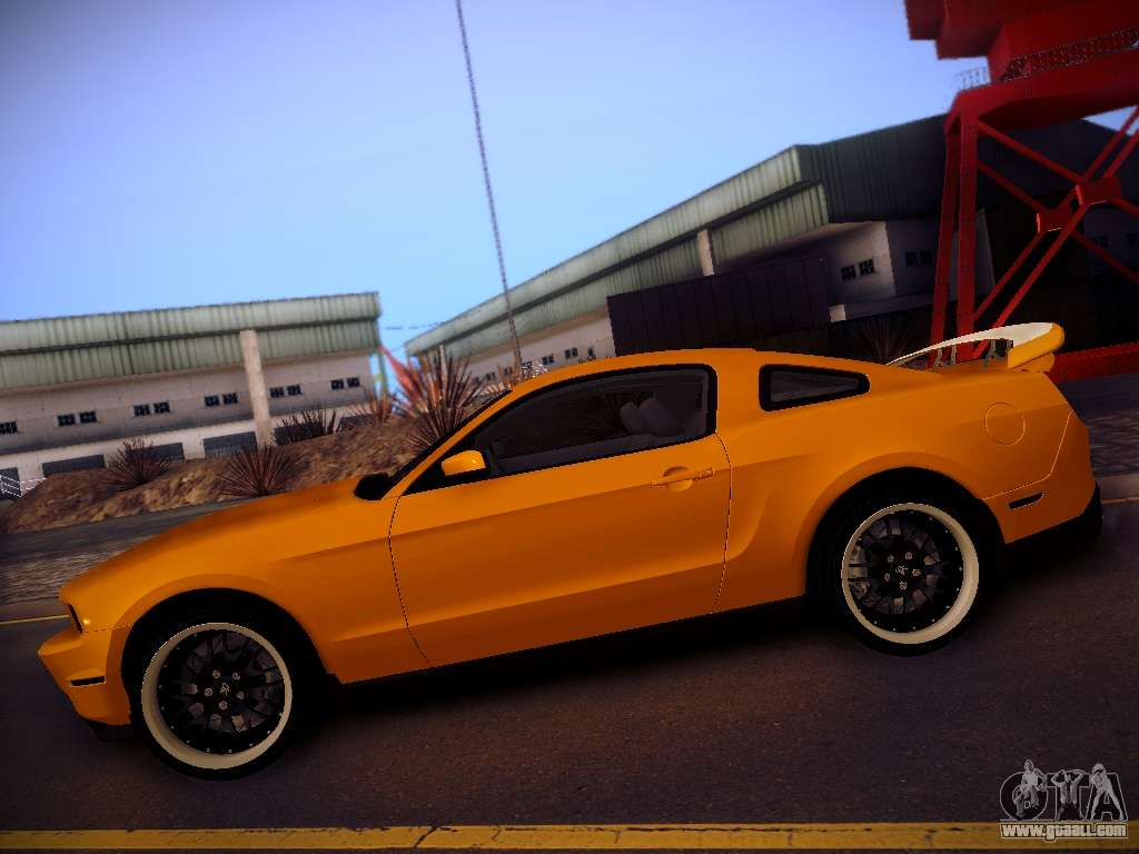 ford mustang gt 2010 tuning for gta san andreas. Black Bedroom Furniture Sets. Home Design Ideas
