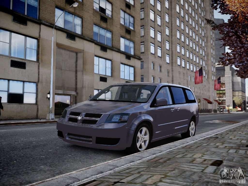 Dodge Grand Caravan Sxt 2008 For Gta 4