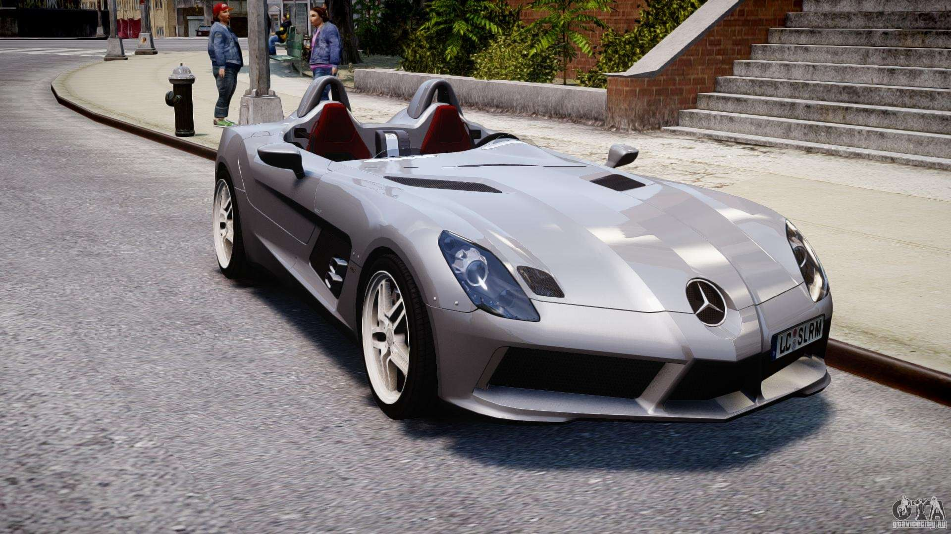 mercedes benz slr mclaren stirling moss epm for gta 4. Black Bedroom Furniture Sets. Home Design Ideas