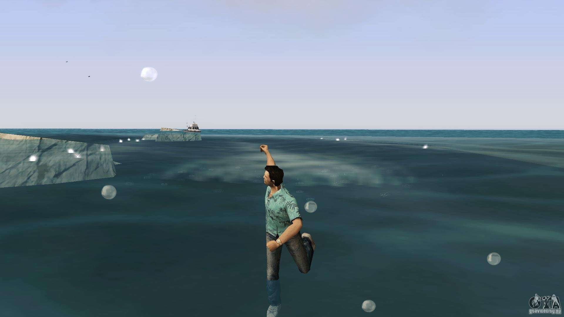 Swimming for GTA Vice City