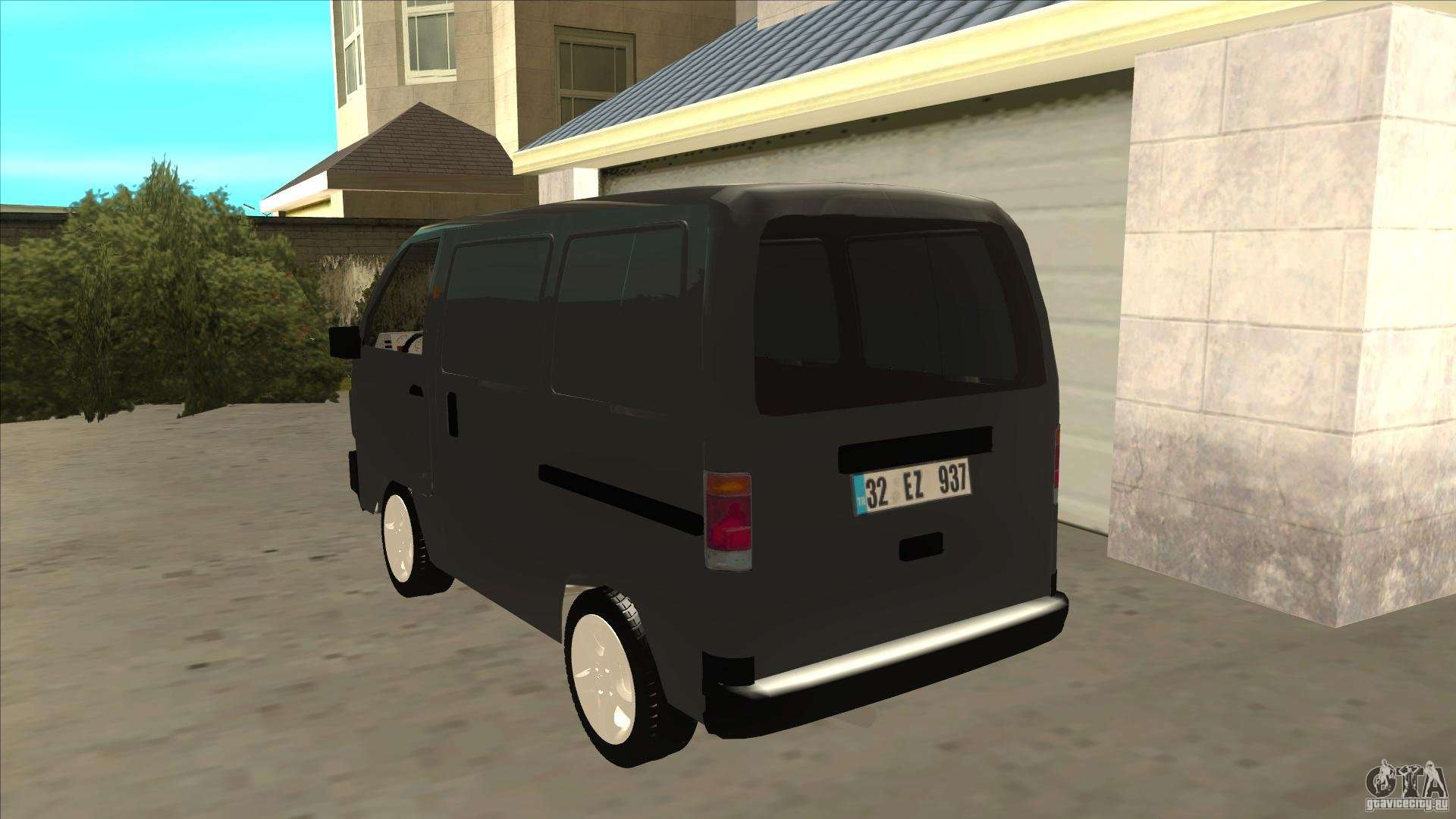 Suzuki Carry Blind Van 1.3 1998 For GTA San Andreas