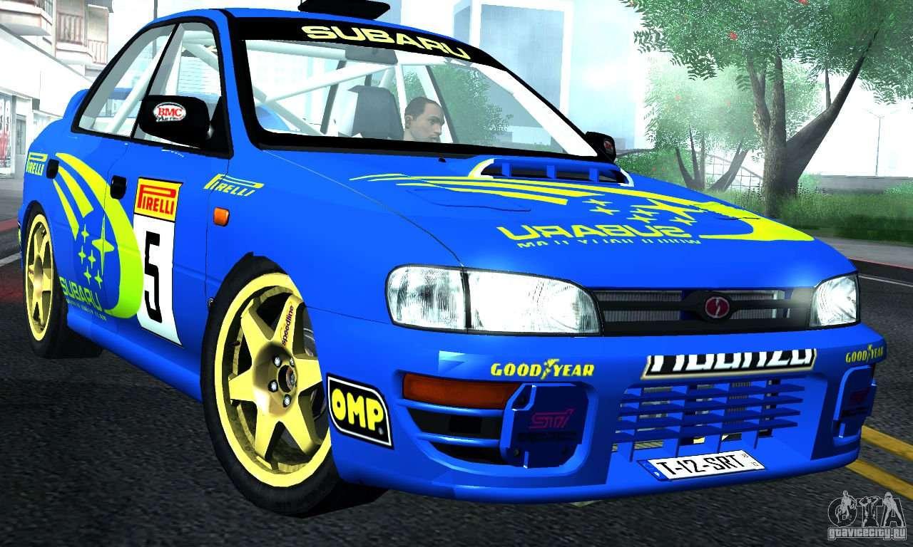 Subaru Impreza 1995 World Rally Championship For Gta San