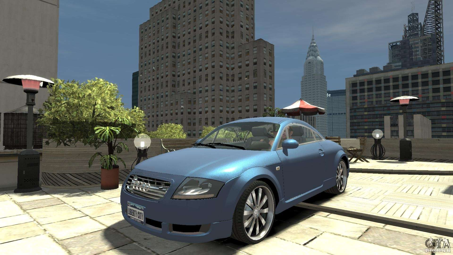 audi tt 1 8 8n for gta 4. Black Bedroom Furniture Sets. Home Design Ideas