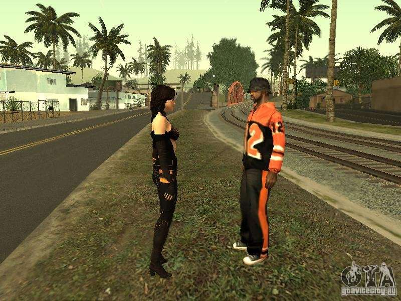 Girls from ME 3 for GTA San Andreas