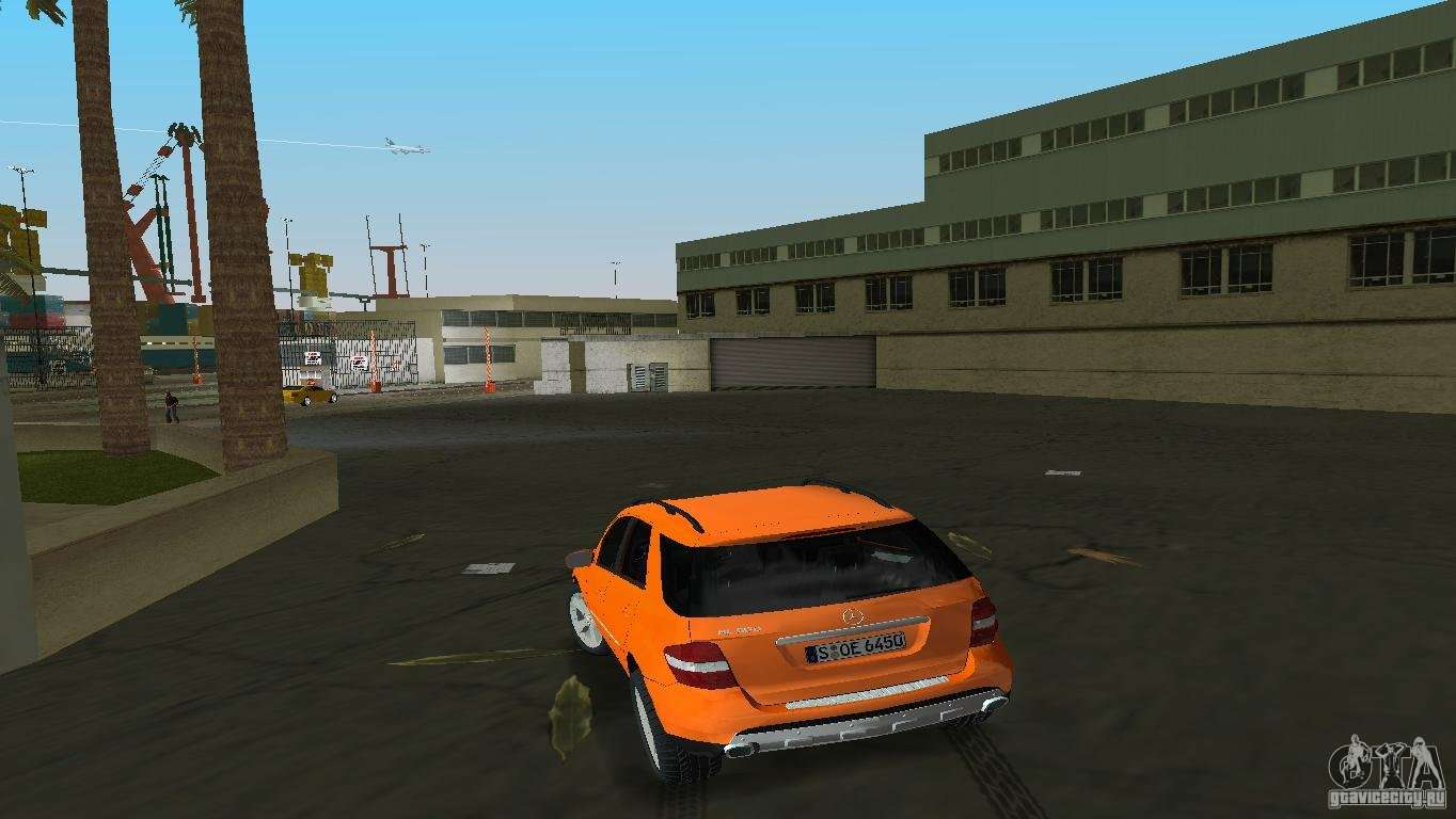 Mercedes benz ml 500 for gta vice city for Mercedes benz gta