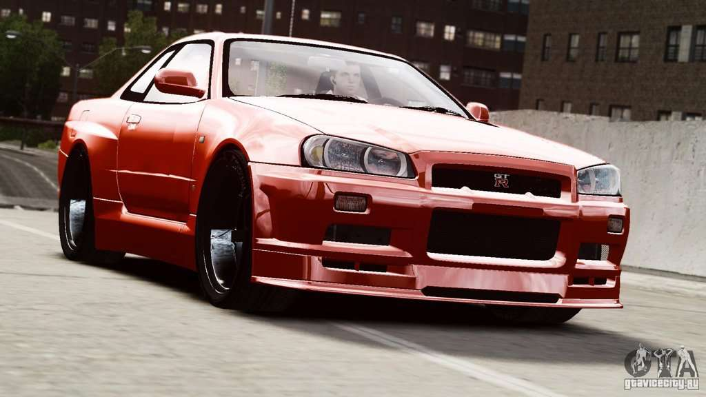 Nissan Skyline Gt R R34 Stance For Gta 4