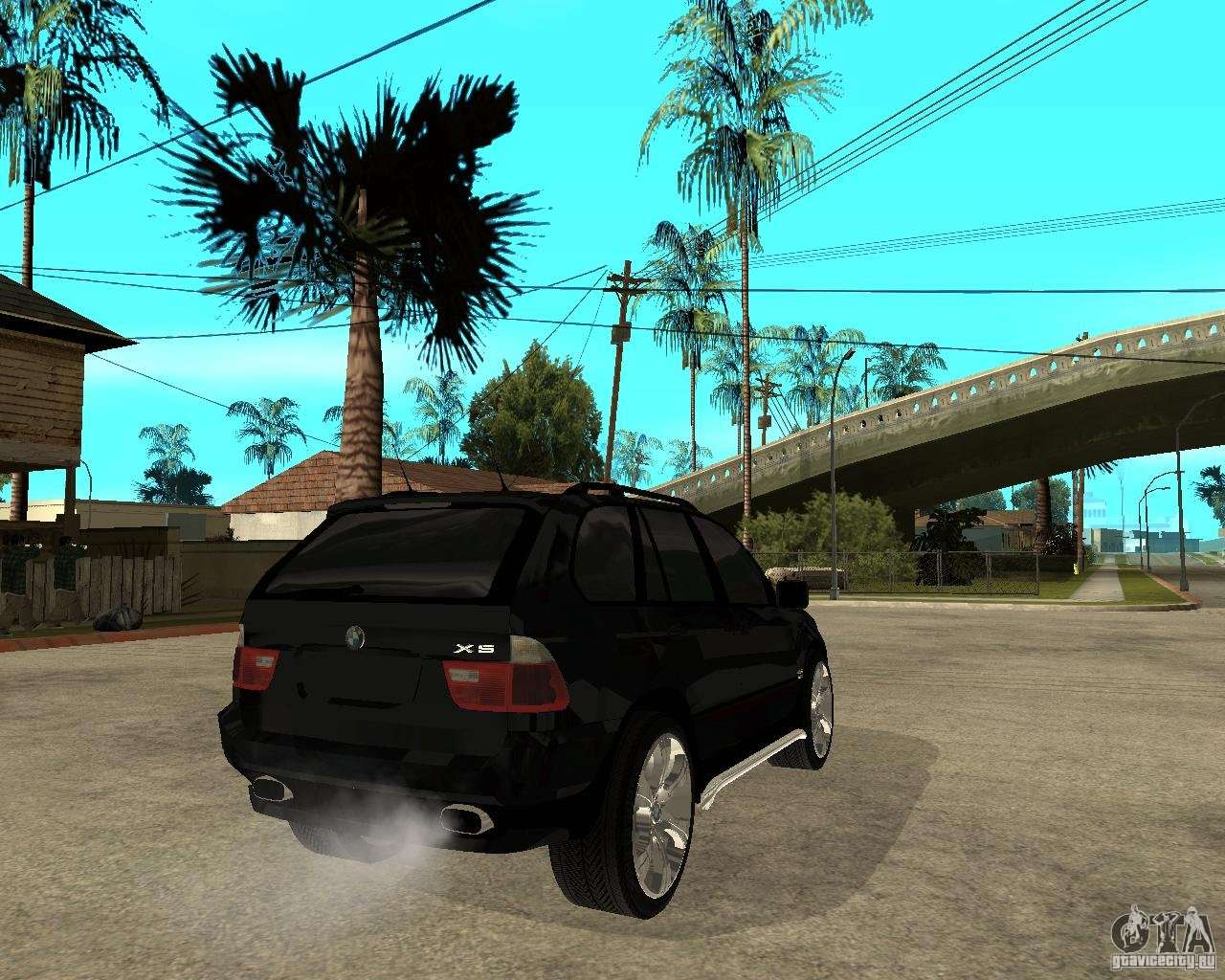Bmw X5 For Gta San Andreas