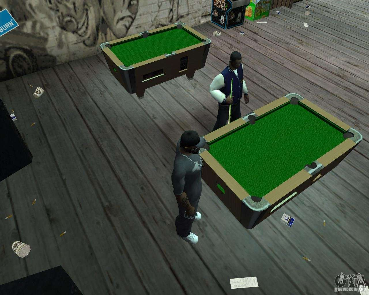 New pool table for gta san andreas for 10 in 1 pool table