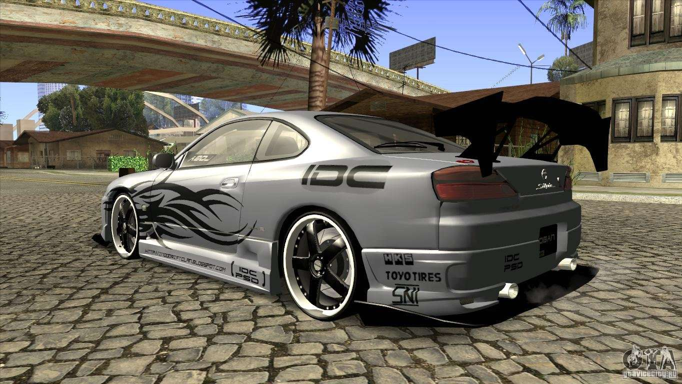 nissan silvia s15 logan for gta san andreas. Black Bedroom Furniture Sets. Home Design Ideas