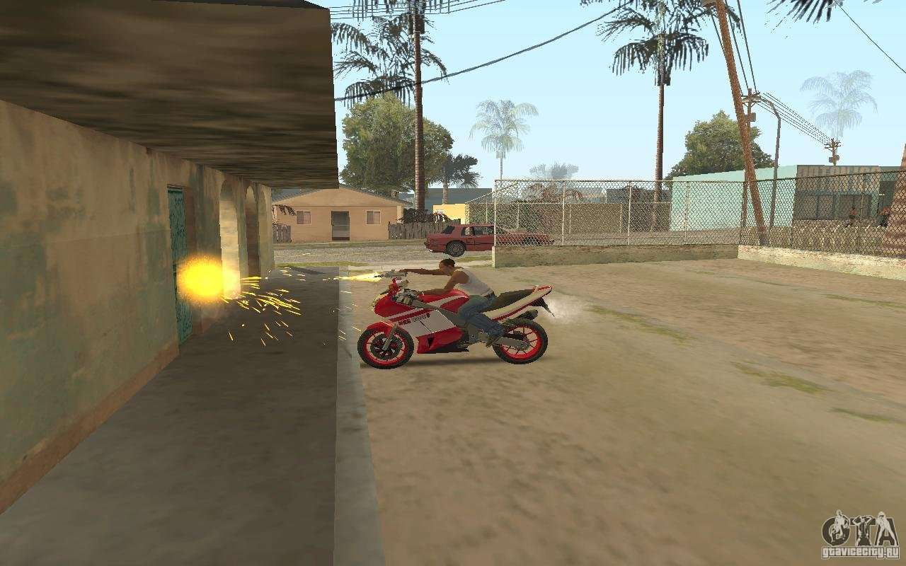The best effects from GTA IV for GTA San Andreas