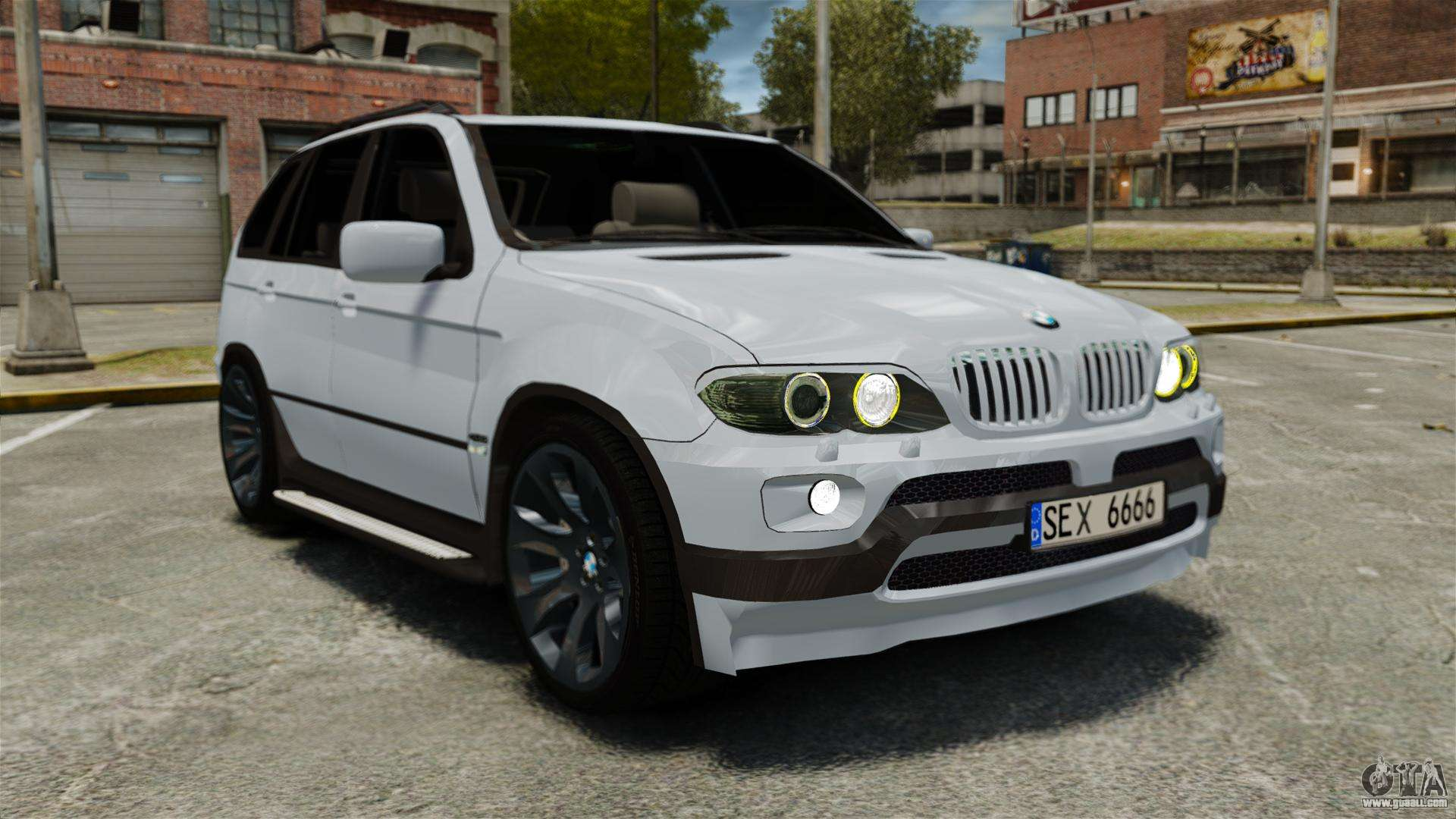 Bmw X5 4 8is Baku For Gta 4