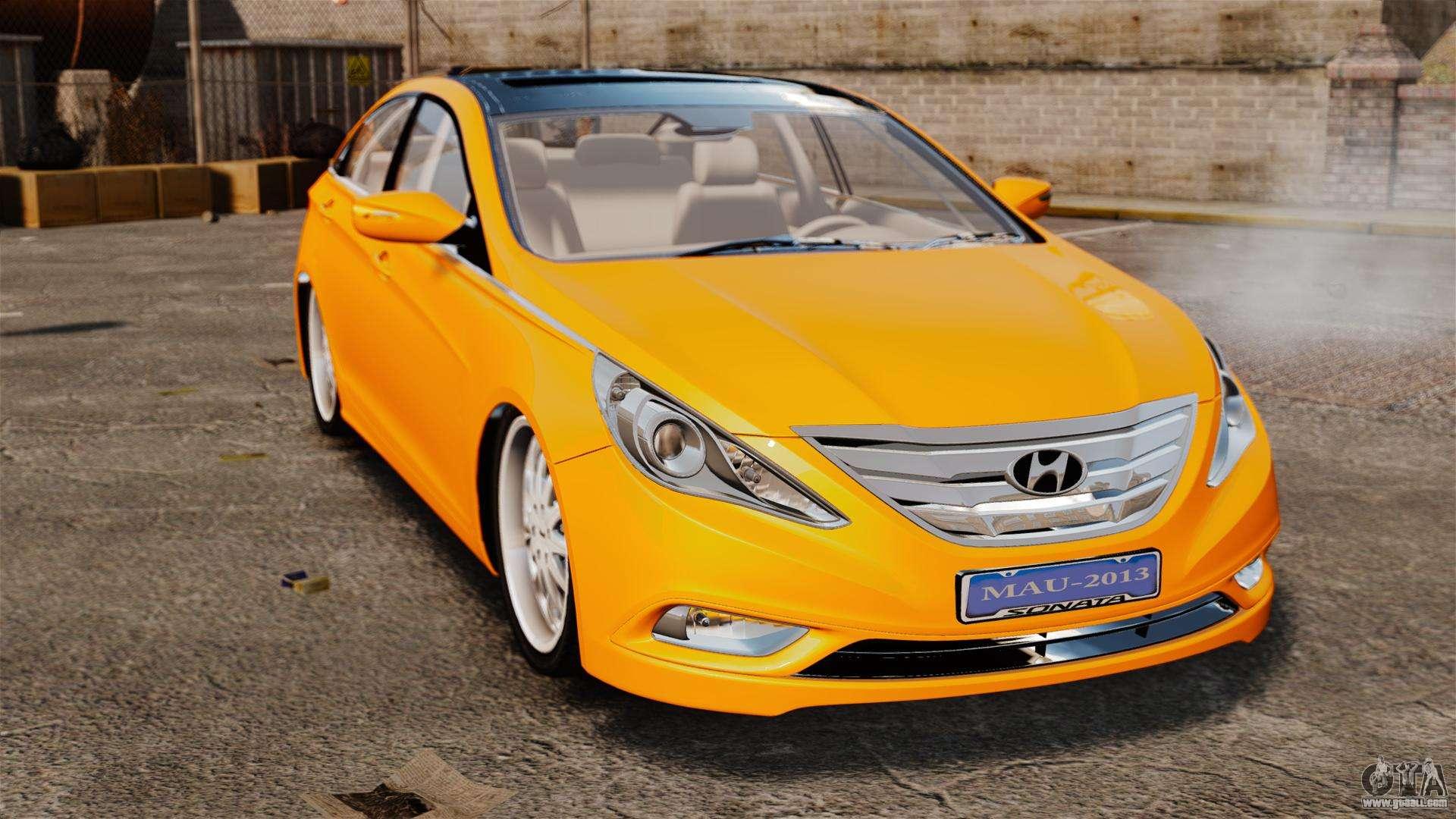 Hyundai Sonata 2011 V2 0 For Gta 4