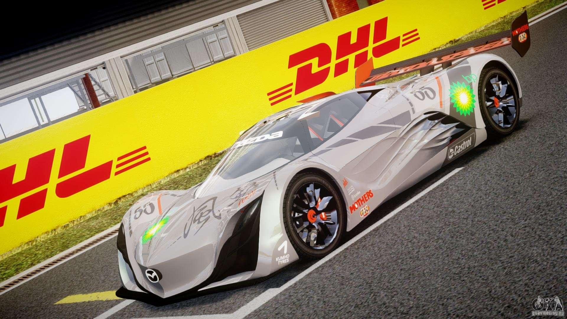 Mazda Furai Concept 2008 for GTA 4
