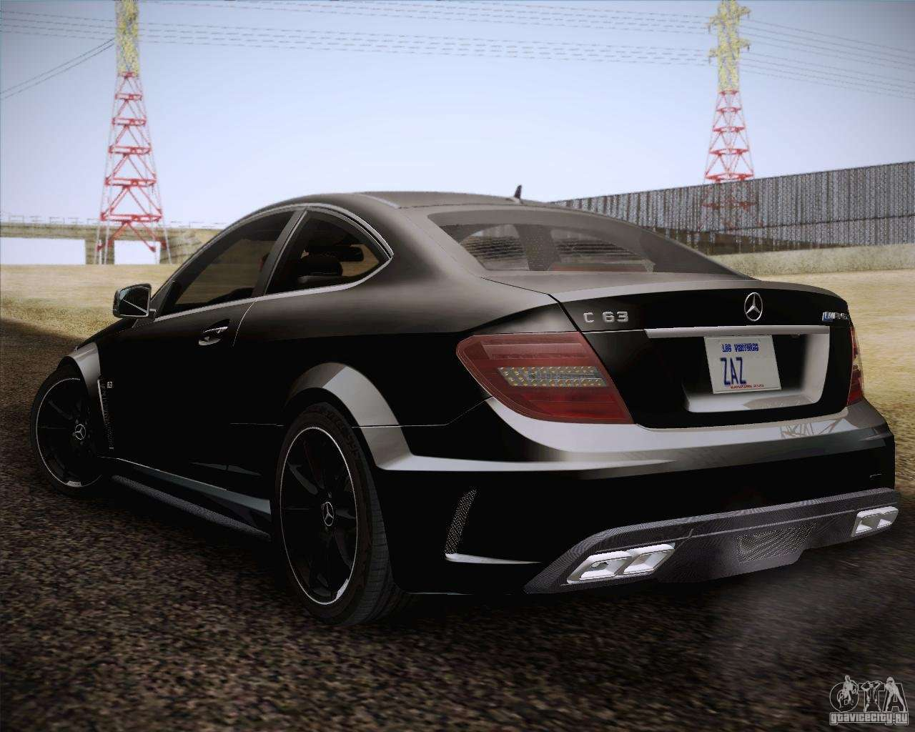 C63 Amg Black Series >> Mercedes-Benz C63 AMG Black Series for GTA San Andreas