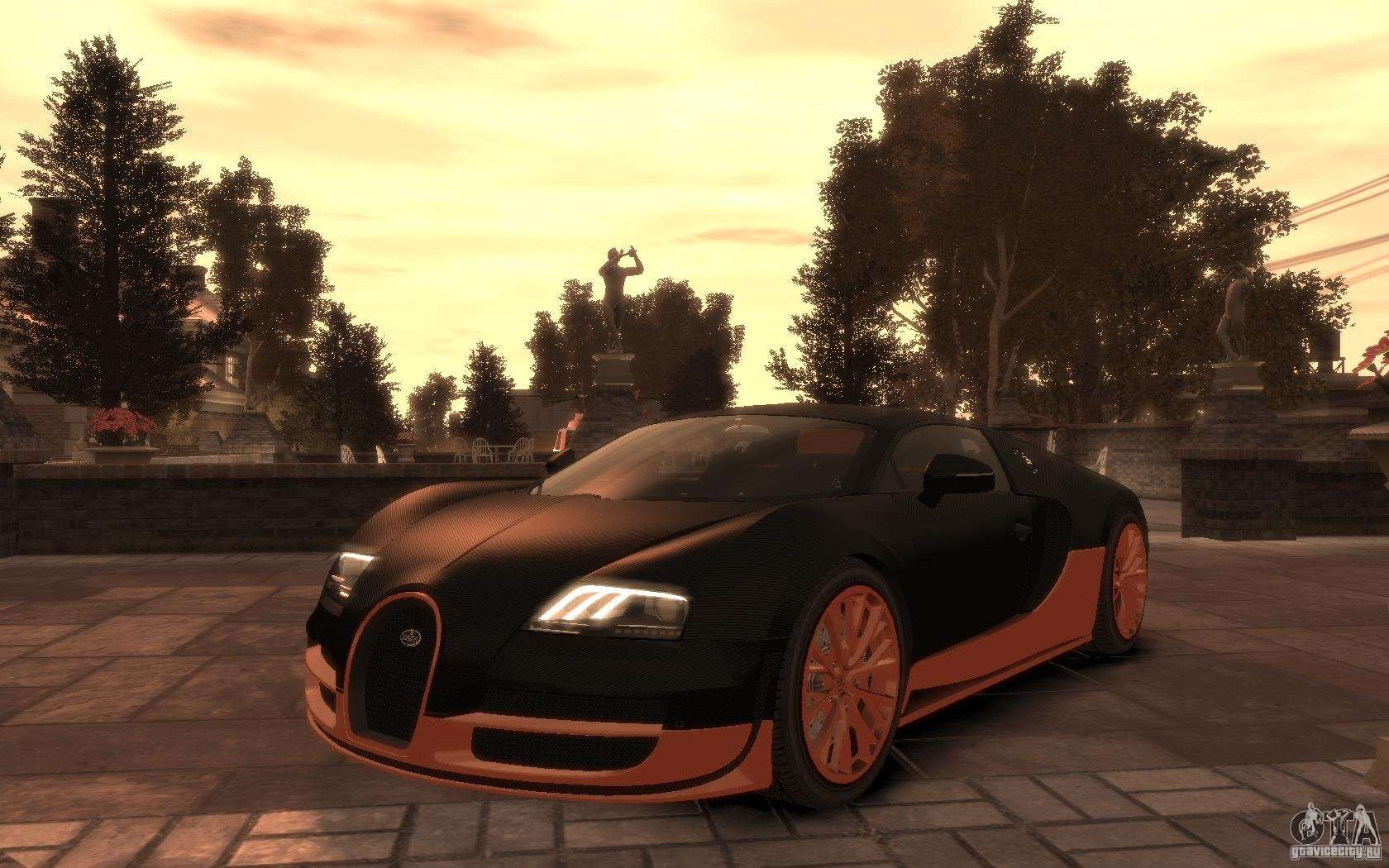 bugatti veyron super sport 2010 for gta 4. Black Bedroom Furniture Sets. Home Design Ideas